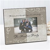 Family Sentiments Personalized Picture Frame - 7145