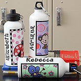 You Choose Girls Personalized Water Bottle - 7157