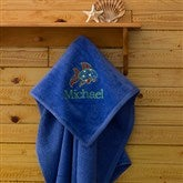 Beach Fun! Beach Towel - Caribbean Blue - 7162-B