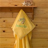 Beach Fun! Beach Towel - Sunshine Yellow - 7162-Y
