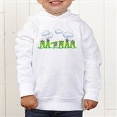 B is for Bug Personalized Toddler Hooded Sweatshirt - 7167-THS