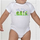 B is for Bug Personalized Baby Bodysuit - 7167-CBB