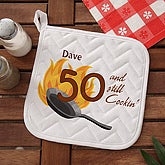 Still Cookin Personalized Potholder - 7216-P