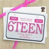 Keys Please Custom Birthday Invitations - 7274-B