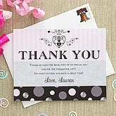 Sweet Sixteen Custom Thank You Cards - 7280