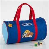 Embroidered All-Star Duffel Bag by Stephen Joseph - 7348