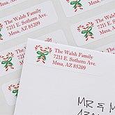 Season's Greetings Return Address Labels - 7353