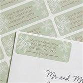 Snowflake Greetings Return Address Labels - 7358