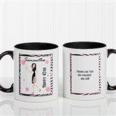 Birthday Girl Personalized Coffee Mug 11oz.- Black - 7360