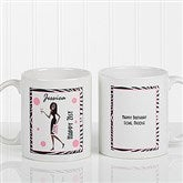 Birthday Girl Personalized Coffee Mug 11oz.- White - 7360-S
