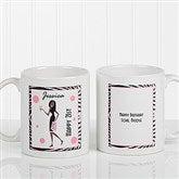 Birthday Girl Personalized Coffee Mug 11oz.- White - 7360-S