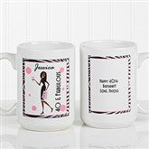 Birthday Girl Personalized Coffee Mug 15oz.- White - 7360-L