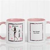 Birthday Girl Personalized Coffee Mug 11oz.- Pink - 7360-P