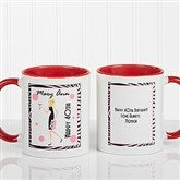 Birthday Girl Personalized Coffee Mug 11oz.- Red - 7360-R