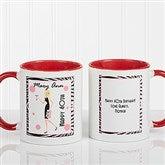 Birthday Girl Personalized Coffee Mug 11oz.- Red - 7360-R