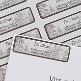 Winter Wonderland Return Address Labels - 7372