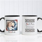 Soul Mates Personalized Photo Coffee Mug 11oz.- Black - 7419-B