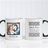 Soul Mates Personalized Photo Mug - 7419-WP