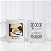 Soul Mates Personalized Photo Coffee Mug 11 oz.- White - 7419-S