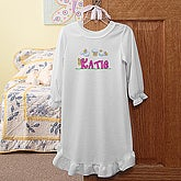 Butterfly Garden Nightgown - 7460-N
