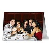 Birthday Photo Personalized Greeting Card - Horizontal - 7496-H