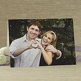 Romantic Photo Personalized Greeting Card - Horizontal - 7499-H