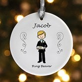 Wedding Party Characters© Personalized Ornament - 7528