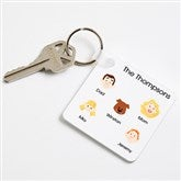 Character Collection Personalized Key Ring - 7584