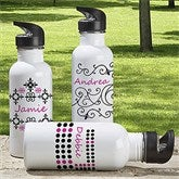 Just Her Style Personalized Water Bottle - 7608