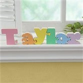 Interlocking Rainbow Name Puzzle- Pastel - 7623D-PA