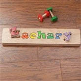 My Name Personalized Puzzle Board- 1 Name - 7624D-1