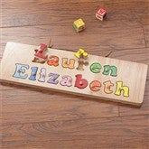 My Name Personalized Puzzle Board- 2 Names - 7624D-2