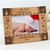 My First Christmas Personalized Frame- 4 x 6 - 7625