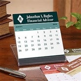 Executive Monogram Desk Calendar - 7636