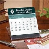 Executive Monogram Desk Calendar - 7636