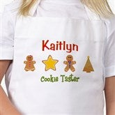 Lil' Christmas Baker Personalized Kid's Apron - 7646-A