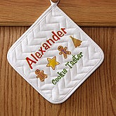 Lil' Christmas Baker Personalized Potholder - 7646-P