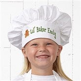 Lil' Christmas Baker Personalized Chef Hat - 7647