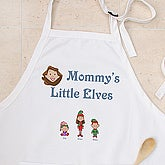Winter Family Collection Apron - 7650-A