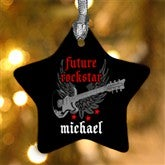 1-Sided Future Rockstar Personalized Ornament - 7652-1