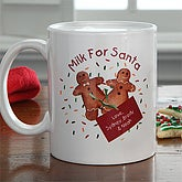 Milk For Santa© Personalized Mug - 7660-M