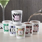 6 Designs Personalized Shot Glass - 7680
