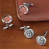 Favorite Faces Photo Cufflinks - 7701D