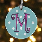 1-Sided Dot To Dot Personalized Ornament - 7704-1