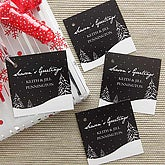Snowscape Personalized Gift Tags - 7745