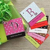 Dot To Dot Personalized Gift Tags - 7748