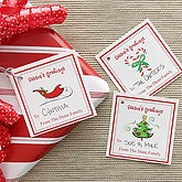 Season's Greetings Personalized Gift Tags - 7749