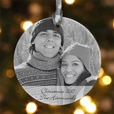 Photo Sentiments Personalized Ornament - 7767