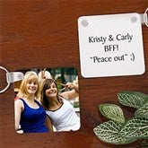 Picture Perfect Friends Personalized Key Ring - 7781