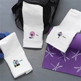 Workout Girl Personalized Gym Towel